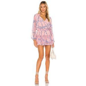 Misa Los Angeles Lorena Dress Intertwined Pink